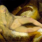 Nude Girl on a Fur-Otto-Dix-1932
