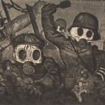 Stormtroops Advancing Under Gas-Otto Dix-1924