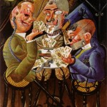 The-Skat-Players-Otto-Dix-1920