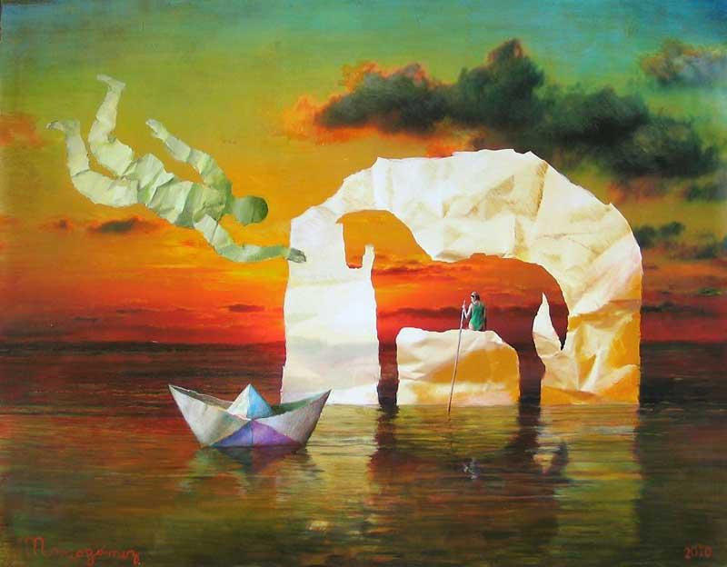 Mario Gomez: Painting