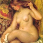Bather-with-Blonde-Hair-Pierre-Auguste-Renoir-1904-06