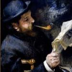 Claude-Monet-Reading-A-Newspaper--Pierre-Auguste-Renoir-1872