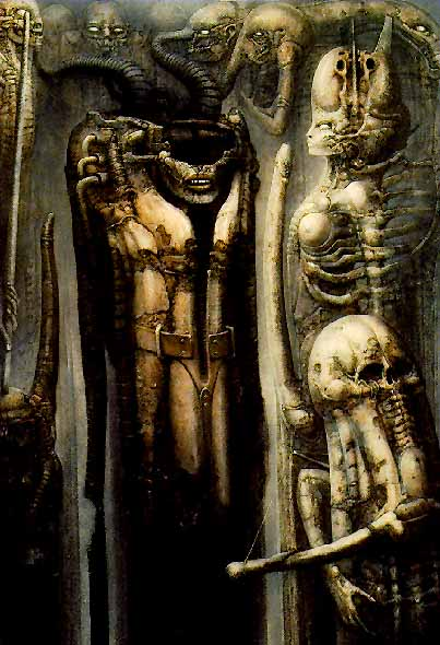 hr giger art. HR Giger: Biomechanics