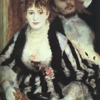 La Loge-Pierre Auguste Renoir -1874