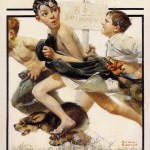 No-Swimming-Norman-Rockwell-1921