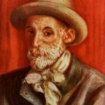 Self-Portrait-Pierre-Auguste Renoir-1910
