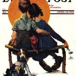 Sunset-Norman-Rockwell-1926