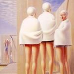 Bathers-George-Tooker-1950