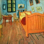 Bedroom in Arles - Vincent van Gogh-1888
