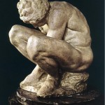 Crouching Boy Marble -Michelangelo-1530-1533