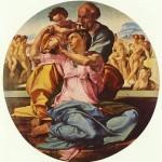 Doni Tondo-Michelangelo-1503