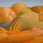 Embrace-of-Peace-George-Tooker