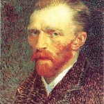 Self Portrait-Vincent van Gogh-1887