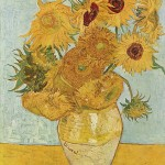 Still Life- Vase with Twelve Sunflowers -Vincent van Gogh-1888