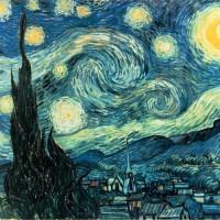 The-Starry-Night---Vincent-van-Gogh---1889