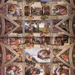 ceiling_of_the_sistine_chapel-Michelangelo - 1508-1512