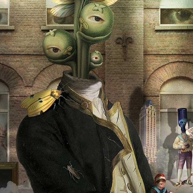 Georges Bousquet: Collage