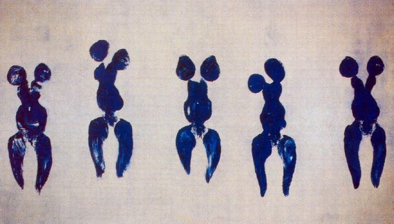 Yves Klein: 1928 – 1962