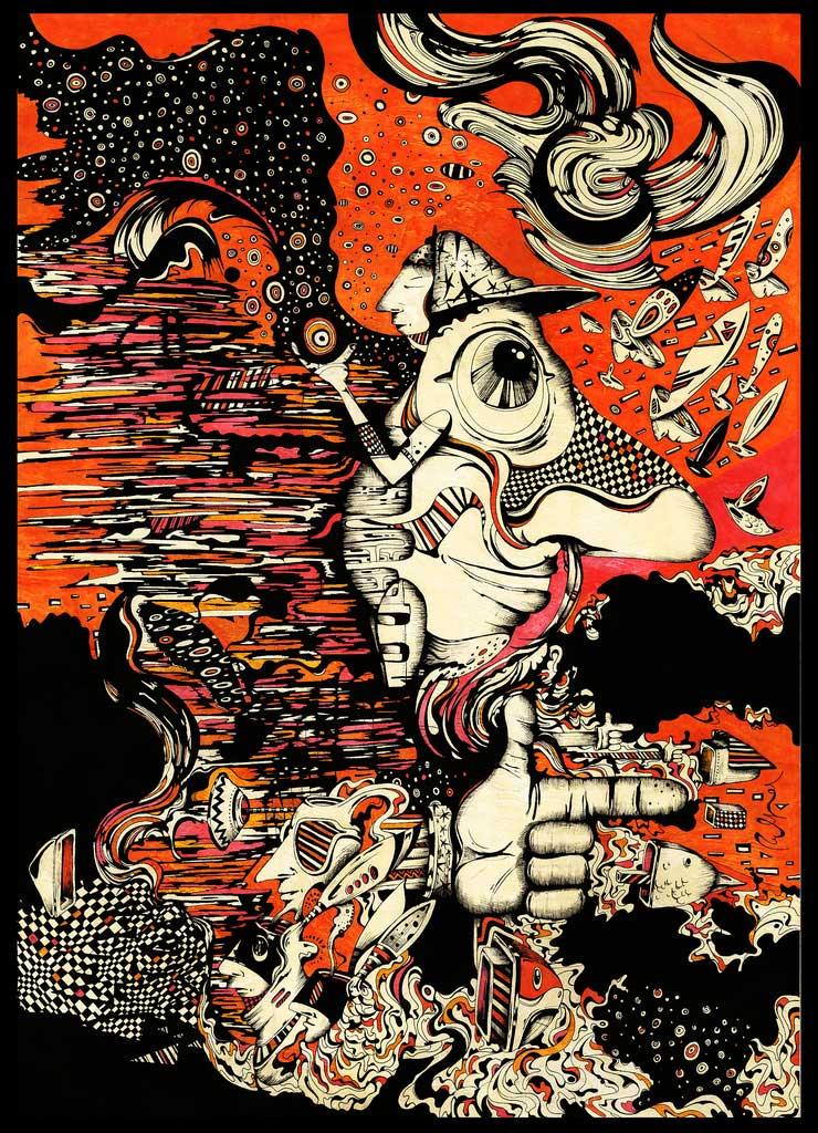 Fernando Hereñú: Illustration