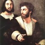 Double-Portrait-Raphael-1518