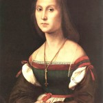 Portrait of a Woman-Raphael-1507
