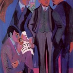 A Group of Artists-- Ernst Ludwig Kirchner-1926-27