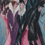Berlin Street Scene - Ernst Ludwig Kirchner - 1913