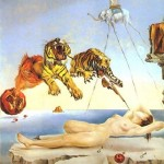 Dream_Caused_by_the_Flight_of_a_Bumblebee_around_a_Pomegranate_a_Second_Before_Awakening-Salvador-Dali-1944
