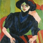 Ernst_Ludwig_Kirchner_Portrait_of_a_Woman-1911
