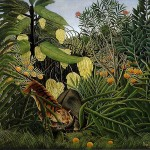 Fight-between-a-Tiger-and-a-Buffalo-Henri-Rousseau-1908