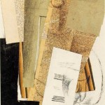 Glass-Carafe-and-Newspapers-Georges-Braque-1914
