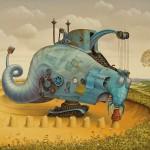 Jacek Yerka: Painting