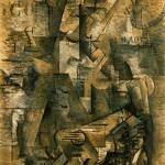 Le-Portugais--The-Emigrant-Georges-Braque-1911-12