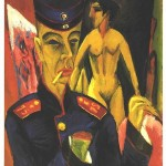 Self-Portrait as a Soldier - Ernst Ludwig Kirchner - 1915