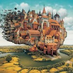 The-City-is-Landing-Jacek-Yerka