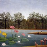 The-Flamingoes-Henri-Rousseau-1907