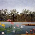 The-Flamingoes-Henri-Rousseau-1907