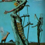 The_Burning_Giraffe-Salvador-Dali-1937
