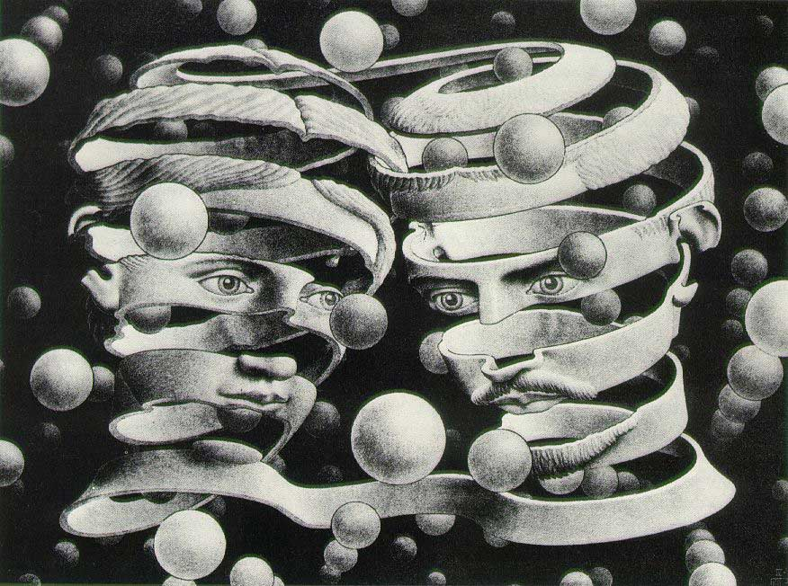 bond of union mc escher 1956