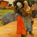 Breton-Peasant-Women-Paul-Gauguin-1894