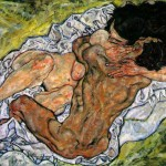 Embrace---Lovers-II---egon-Schiele---1917