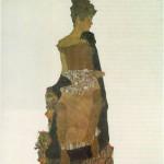Gerti Schiele - Egon Schiele - 1909
