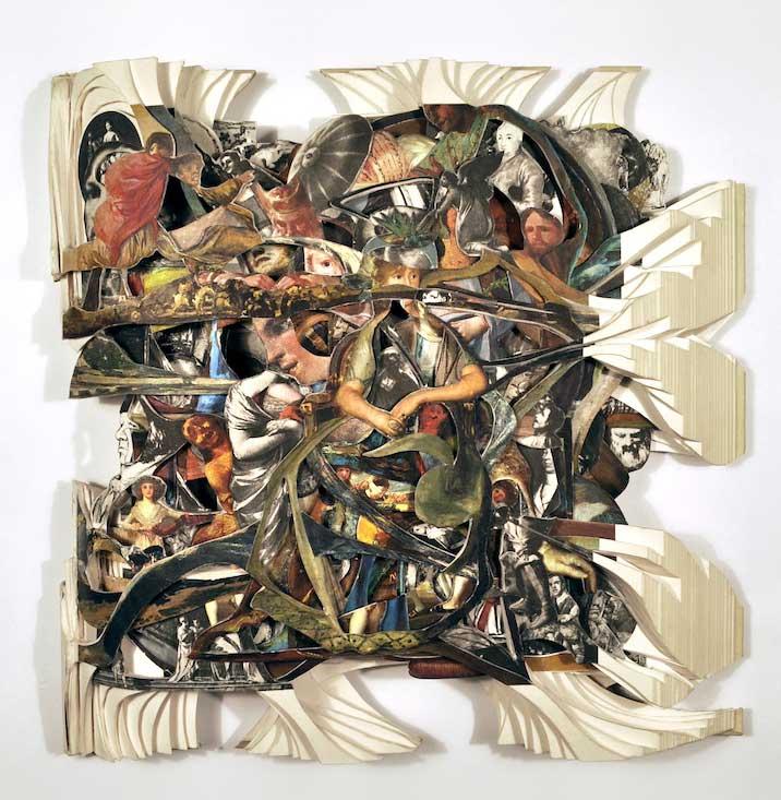 Brian Dettmer: Altered Books @ Kinz + Tillou