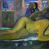 Nevermore--Paul-Gauguin-1897