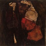 Pregnant Woman and Death - Egon Schiele - 1911