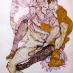 Seated-Couple---Egon-Schiele---1915