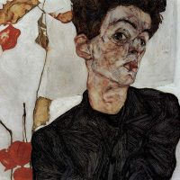 Self Portrait- EgonSchiele 1912