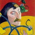 Self-Portrait-with-Halo--Paul-Gauguin-1889