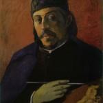 Self-Portrait-with-Palette-Paul-Gauguin-1894