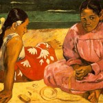 Tahitian-Women-On-the-Beach-Paul-Gauguin-1891